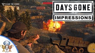 Days Gone Gameplay Demo Impressions - E3 2018 Impressions