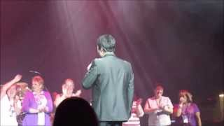 "Donny Osmond's GT on Bahamas Cruise, he sings, ""You Are So Beautiful""  Fri Mar 2 2013 937 AM"