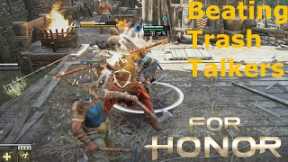 Beating A Party Of Trash Talkers In For Honor