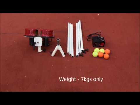 Gravity Lite Tennis Cricket Ball Machine