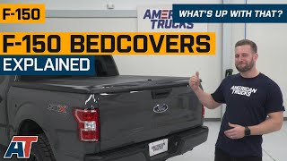 2015 2020 Ford F 150 Bed Covers Tonneau Covers Americantrucks Com