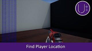 Unreal Engine 4 C++ Tutorial: Find Player Location
