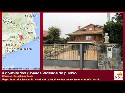 4 dormitorios 3 baños Vivienda de pueblo se Vende en Cànoves, Barcelona, Spain