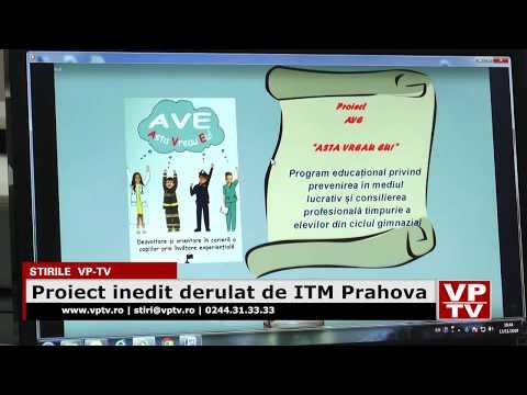 Proiect inedit derulat de ITM Prahova