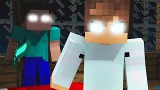 Best Hackers Songs - Herobrine vs Psycho Girl (Top Minecraft Songs)