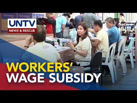 [UNTV]  DOLE, ipinapanukala ang wage subsidy upang maiwasan ang pagtanggal sa mga manggagawa