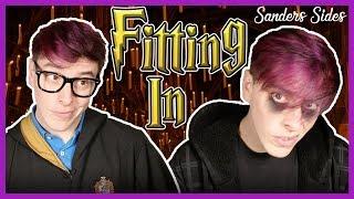 Fitting In (Hogwarts Houses!)   Sanders Sides