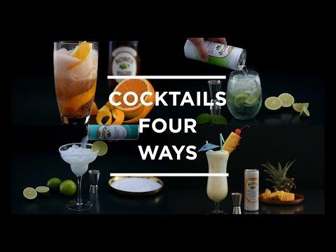 Video Cocktails 4 Ways