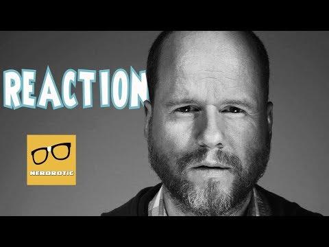 Joss Whedon Reaction | Kai Cole Blog