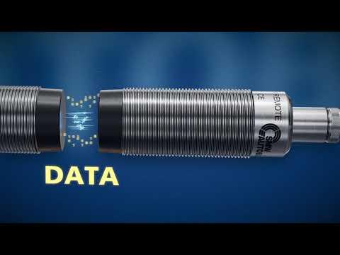 ワイヤレスによる電力供給+複数のデータを送受信(I/Oリンク対応)