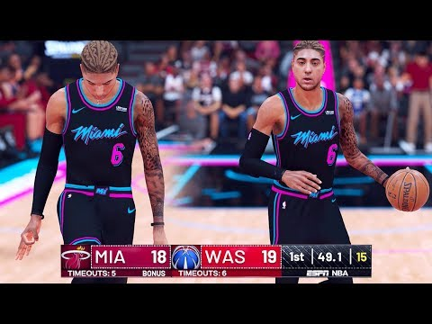 NBA 2K19 My Career - NBA Debut on ESPN! Ep.5