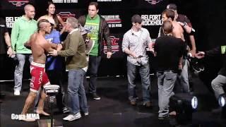 Best MMA staredowns