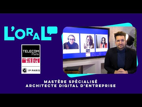 L'oral : MS architecte digital d'entreprise
