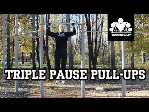 Triple Pause Pull-Ups