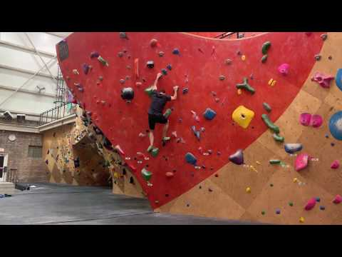 Brooklyn Boulders V4 Orange