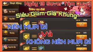 OMG 3Q - Ngày 13 VIP1 SIÊU GIẢM GIÁ Team Ngô Nên Mua Gì Và Không Nên Mua Gì | Gino Gaming TV