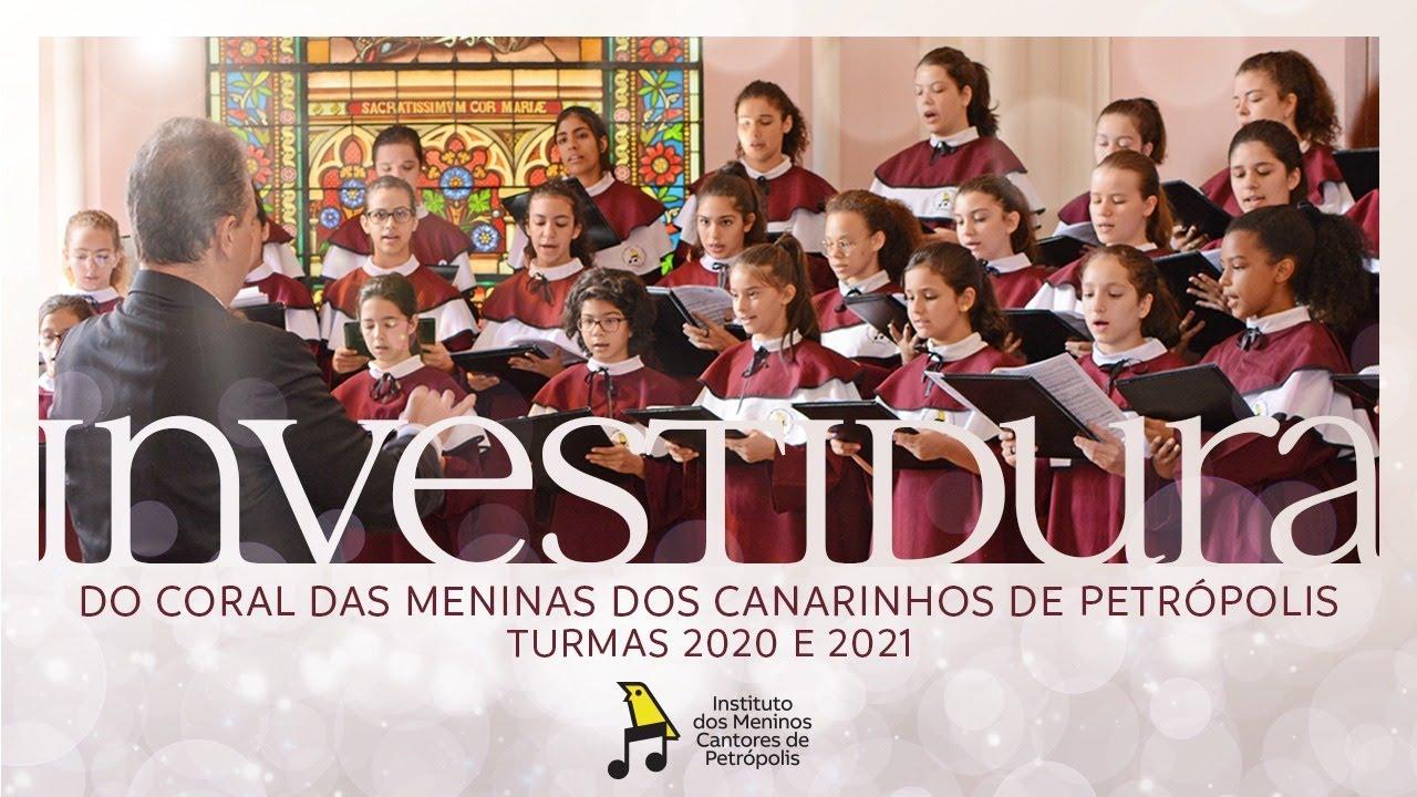 Cerimônia de Investidura do Coral das Meninas dos Canarinhos