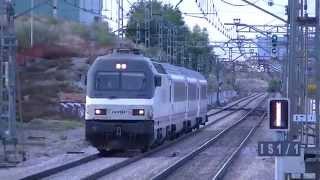 preview picture of video 'Renfe 252.058 y ARCO por Valdemoro'