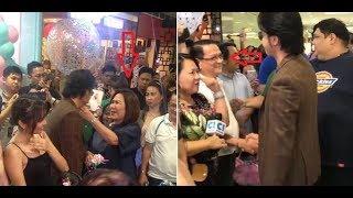 Daniel Padilla Sobrang Close Sa Pamilya ni Girlfriend Kathryn | KathNails' SM Southmall Opening