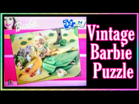 Tale of the Forest Princess Barbie Jigsaw puzzle