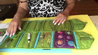 Yazzii CA346 Craft Wallet embellished by Scheri Mansion   Sue Spargo Needle Keeper pattern