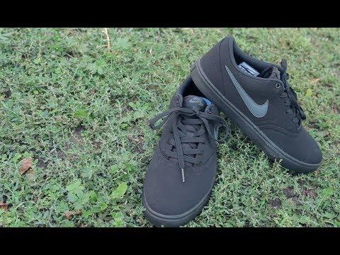 Кеды Nike Men's Sb Check Solarsoft Canvas Skateboarding Shoe, видео - интернет магазин MEGASPORT