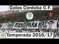 los goles del Córdoba C.F. temporada 2016/17