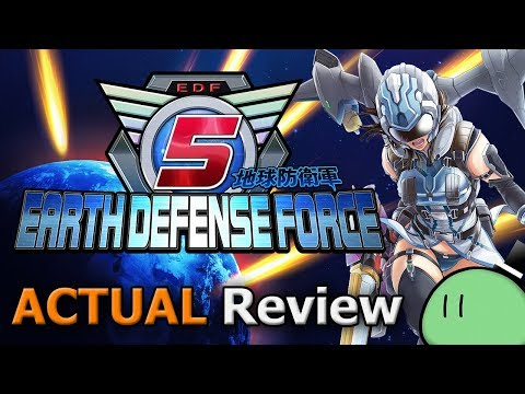 Earth Defense Force 5 (ACTUAL Game Review) video thumbnail