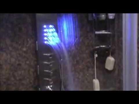Duschpaneel mit LED Licht