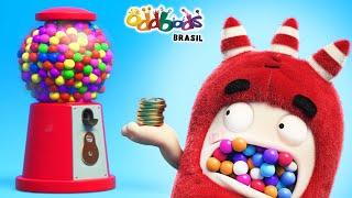 Oddbods | Bola De Chiclete | Desenho Infantil | Oddbods Brasil