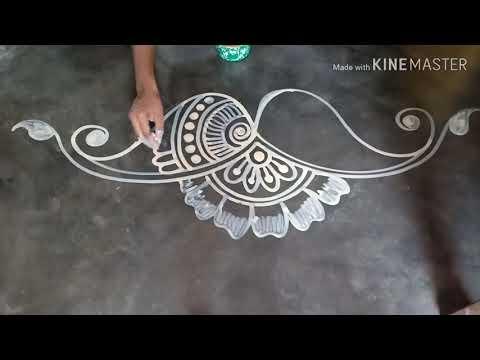 alpana rangoli design for doors by mukesh arts