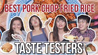 IS DIN TAI FUNG PORK CHOP FRIED RICE THE BEST?   Taste Testers   EP 105