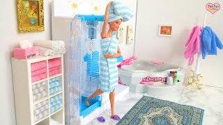 Waktu Mandi Boneka Barbie!