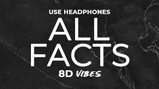 G Eazy   All Facts Ft. Ty Dolla $ign (8D AUDIO) 🎧