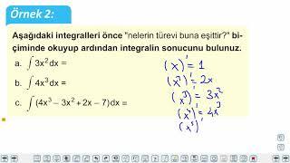 Eğitim Vadisi AYT Matematik 21.Föy Belirsiz İntegral (İntegrale Giriş) Konu Anlatım Videoları