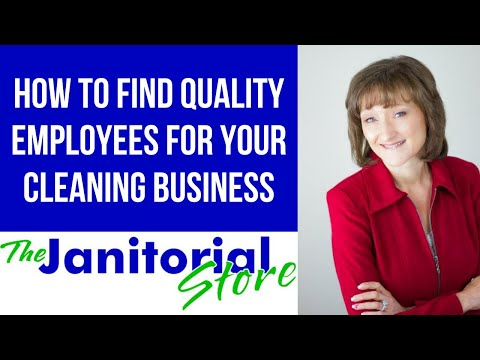 , title : 'How To Find Quality Employees For Your Cleaning Business