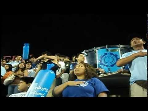 """""""LA 12 PASION CANTANDO EL HIMNO NACIONAL - UCV vs TOLIMA"""" Barra: La 12 Pasion • Club: Universidad César Vallejo"""