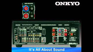 ONKYO How-To Series: Hook Up 5.1 or 7.1 Speaker Configuration