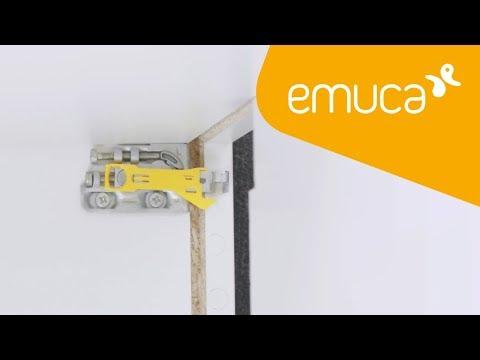 Cómo instalar un módulo alto con el colgador Holdy - Emuca