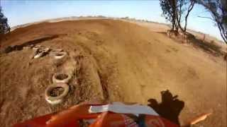 preview picture of video 'Forbes motocross Round 2 2013 with Nic Tomlinson #150 on his KTM SXF 250'