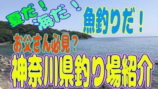 夏だ!海だ!魚釣りだ!お父さん必見?「神奈川県釣り場紹介」