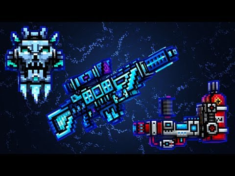 NECKLACE OF THE ICE KING + COLD SILENCE + PROTON FREEZER = Pixel Gun 3D