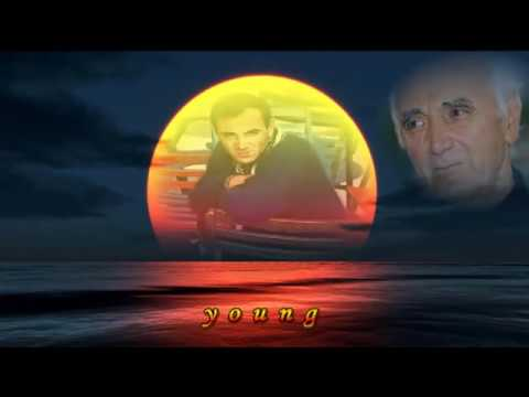 Charles Aznavour-Yesterday When I was Young (lyrics)