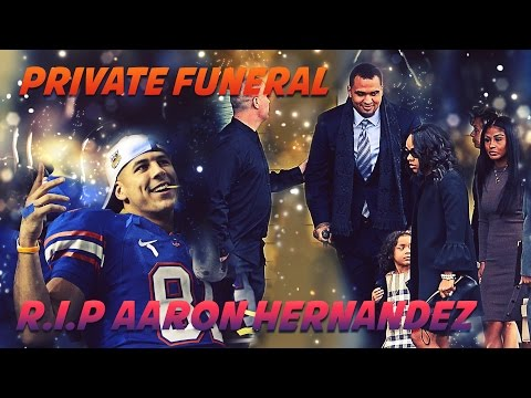 Aaron Hernandez Suicide Notes Released To Family | NFL Stars Attend Private Funeral