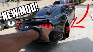 This Cheap $80 Mod MADE my 2019 Mustang GT look so mean!