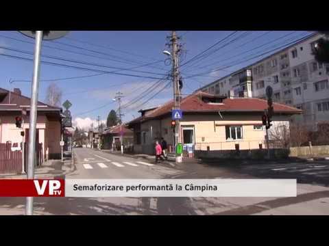 Semaforizare performantă la Câmpina