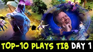 TOP-10 plays of The International 2018 — Day 1