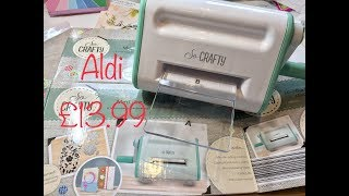 Aldi Die-cutting Machine Unboxing And Review