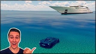 EXPLORING THE OCEAN!! | Forza Horizon 3 | Biggest Map Glitch so far!