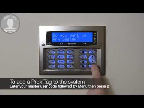 How to add a Proximity Tag to a Texecom Premier Elite alarm system